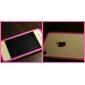 efeito diamante protetor de tela de proteção com pano de limpeza para Apple iPhone 4 2pcs