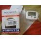 Mini White Pedometer Step Counter (Cals/Km/Mile)