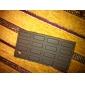 Etui en Silicone Style Tablette de Chocolat pour iPhone 4