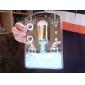 Robinet Lumineux de Cuisine, Changement de Couleur, Détecteur de Chaleur - Plastique, Finition Chromée
