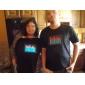 Camiseta com LED Espectro Musical (4xAAA)