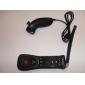 2 v 1 MotionPlus dálkový ovladač a nunchuk + pouzdro pro Wii/WiiU (černé)