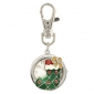 Christmas Boot Keychain Watch With Bow