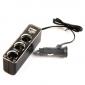 3 гнезда автомобильное зарядное устройство с USB-источником питания для iphone 8 7 samsung s8 s7 6 iphone 8 7 samsung s8 s7 6 plus