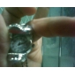 colar relógio encantador (crânio)