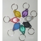 Multicolored Rainbow LED Keychain Flashlights (7-Pack, 2xCR2016)