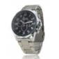 Alloy Band Mechanical Wrist Watch For Men
