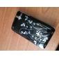 мультфильм прозрачные края защитный чехол из ПВХ крышка для iphone 3G/3GS (черный)