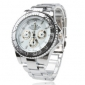 Men's Watch Dress Watch Fashionable Alloy Band Wrist Watch Cool Watch Unique Watch