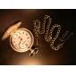 Mulheres Relógio de Bolso Quartzo Lega Banda Prata