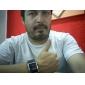 Masculino Relógio de Pulso Digital LED Calendário Borracha Banda Preta