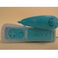Wii/Wii U용 2-in-1 모션플러스 리모컨 및 넌척 +케이스 (블루)