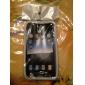 Etui de Protection en Silicone pour iPhone 4 - Blanc