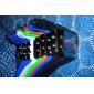 Silicone Band LED Wrist Watch(Blue) Cool Watch Unique Watch