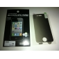 Anti-Spy Screen Protector with Cleaning Cloth for iPhone 4, 4S