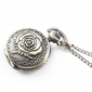 Antique roses quartz small pocket watch necklace chain Cool Watches Unique Watches