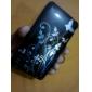 Cartoon Transparent Edge Protective PVC Case Cover for iPhone 3G/3GS (Black)