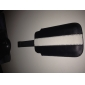 prêmio bonita capa de couro pu para o iPhone 3G / 4 (preto e branco)