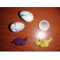 oeuf de dinosaure magique - couleurs assorties (pousse un dinosaure / 5-pack)