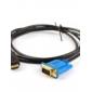 Cabo VGA/HDMI 1.5m (Com Conectores Folheados a Ouro)