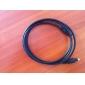 프리미엄 디지털 오디오 광 TOSLINK 케이블 1.8M