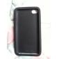 Etui de Protection en Silicone pour iPod Touch 4 - Noir