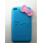 Protective Sillica Gel Soft Case for Touch 4 (Blue)