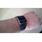 Unisex Red LED Digital Square Case Black Silicone Band Wrist Watch Cool Watch Unique Watch