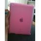 ipad 2를위한 절반 사이드 오픈 실리콘 케이스 (핑크)