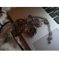 Mulheres Bracele Relógio Relógio de Moda Japanês Quartzo Banda Borboleta Elegant Preta
