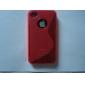 Однотонный защитный чехол для iPhone 4 и 4S