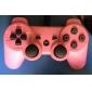 Mando Wireless Recargable para PS3 (Rosa)