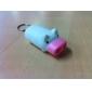 мини-свиньи 2 светодиода фонарика белый (3 * LR1130 входит в комплект)