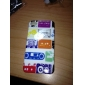 Protective Hard ABS Case for iPhone 4 and 4S (Colored Tapes)