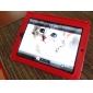 Case Dura de Pele + Suporte para Apple iPad (Vermelho)