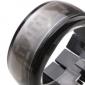 Orologio-bracciale LED, design futuristico - Nero
