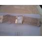 Femme Montre Tendance Bracelet de Montre Japonais Quartz Strass Imitation de diamant Cuivre Bande Luxe Etincelant Elégant Doré