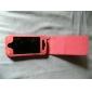 Case de Pele para iPhone 4 - Pele de Cobra (Pêssego)