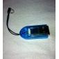 Mini USB 2.0 leitor de cartão do TF (azul)