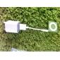 Ultra-Mini 1A USB Power Adapter/Charger (100~240V/EU Plug)