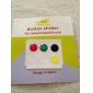 Home Button Sticker for iPhone, iPad and iPod (6 Pack, Solid Color)
