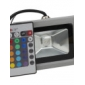 lm LED Floodlight 1 leds Integrate LED Remote-Controlled RGB AC 85-265V