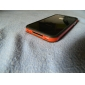 Case Pára Choques para iPhone 4 (Preto + Vermelho)