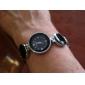 Bracele Relógio Banda Elegantes Branco Preto Azul Rosa claro