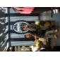 남성 스포츠 시계 일본 쿼츠 석영 밴드 블랙 그린