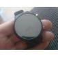 Masculino Relógio de Pulso Digital LED Silicone Banda Preta