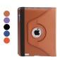 Case em Pele Rotativa 360Graus com Suporte e Função On/Off para Novo iPad (Várias Cores)