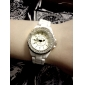 Diamond Quartz Wrist Watch with Stainless Steel Band For Women