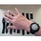 unisex Digital LCD bloco de tijolos estilo da banda relógio de pulso (preto)