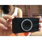 Camera-design Soft Silicone Case for iPhone 4/4S iPhone Cases